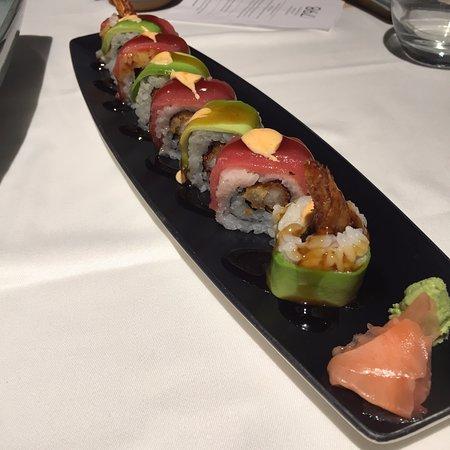 Geisha Roll, 16,50 euros (sin el descuento  de El Tenedor aplicado)