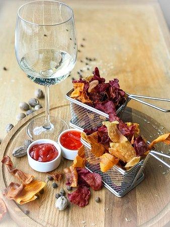 Закуска Пиза (микс овощных чипсов) - 800 тг