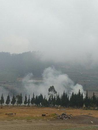 Dieng plateu special region of wonosobo