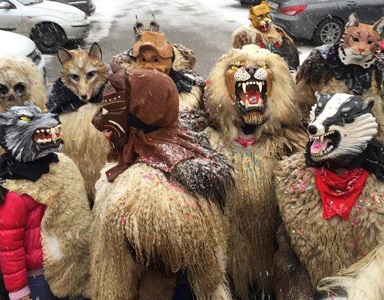 Val d'Herens: February Carnaval