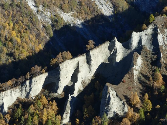 Val d'Herens: Pyramides d'Euseigne