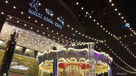 Орчард-роуд: Christmas festivities at Ngee Ann City, Orchard Road (Dec 2018)