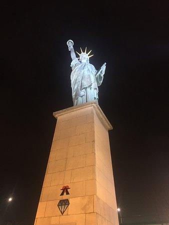 Париж, Франция: Statua Liberté