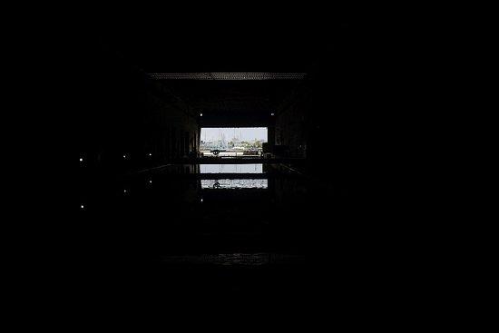 Submarine base exit 1
