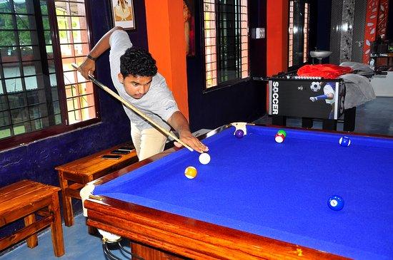 Аллапужа, Индия: Pool Table in Alleppey. The Alleppey Billiards www.allebilli.com