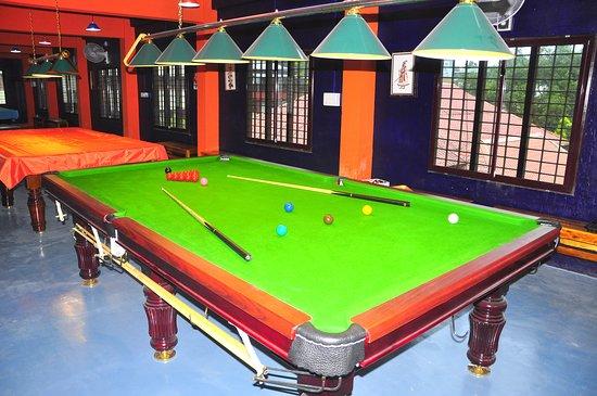 Аллапужа, Индия: Snooker Table in Alleppey. The Alleppey Billiards www.allebilli.com