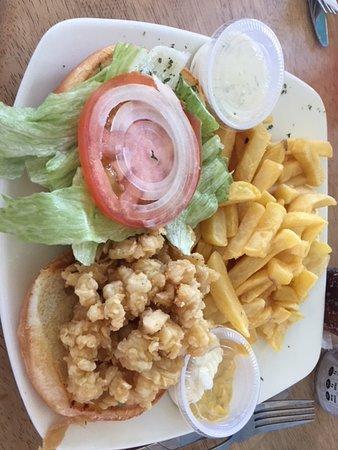 Conch burger