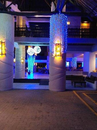 Baobab Lobby at Night