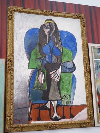 Picasso, La dame en vert