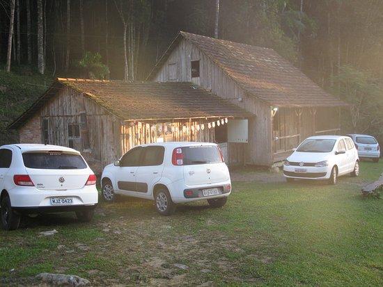 Botuvera, SC: cabana rústica