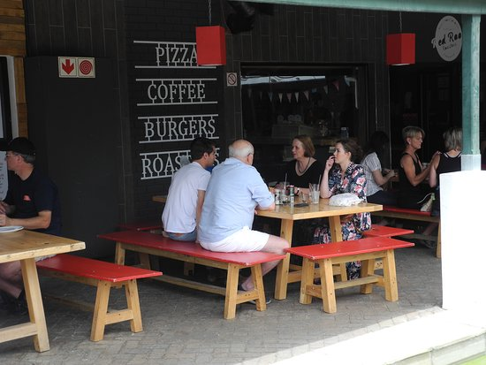 Customers at Red Roof