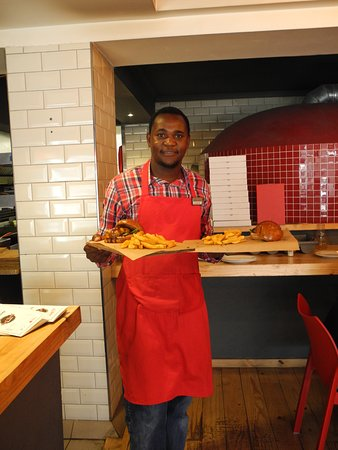 Red Roof waiter