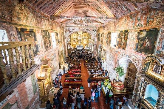 Iglesia de Huaro, Cuzco, Peru