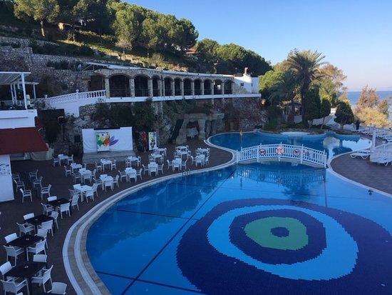 Labranda Ephesus Princess Kusadasi: Poolbereich (es gibt noch einen 2. Pool auf gleicher Ebene)