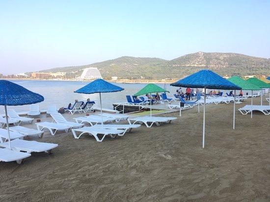 Labranda Ephesus Princess Kusadasi: Kleiner Strandbereich