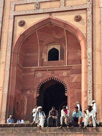 Buland Darwaza entryway to the palace