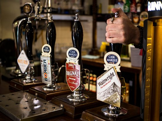 The Three Tuns: Our ale selection