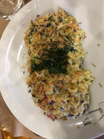 Succulent risotto