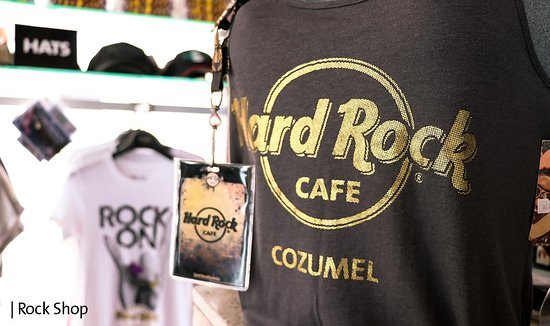 Hard Rock Cafe: Classic colors that everyone loves!