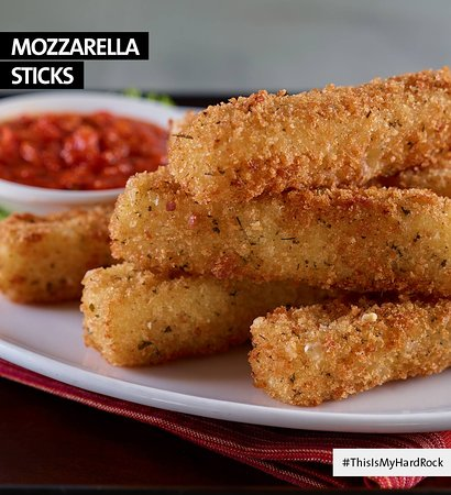 Hard Rock Cafe: ¿Ya conoces nuestros #MozzarellaSticks?