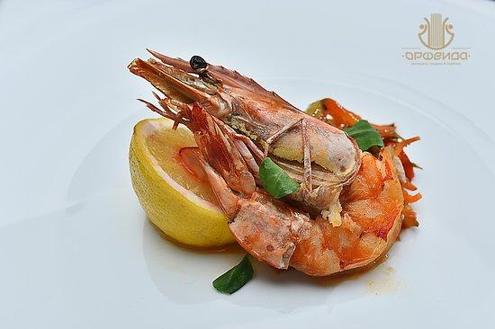 Restaurant Orfeida: Sea food....