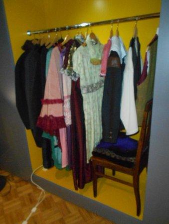 Kostymer vilka har används på olika Operor !