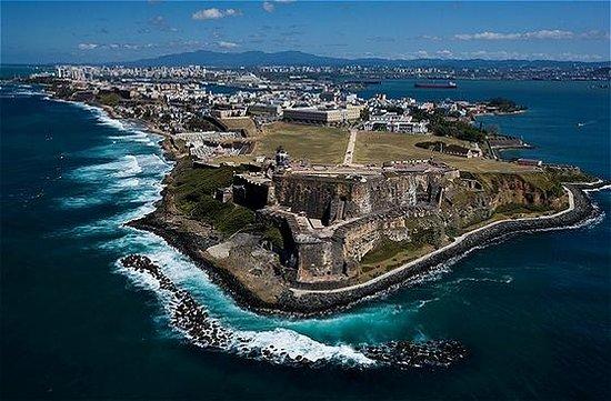 Крепость и историческая часть города Сан-Хуан: El Morro and OSJ