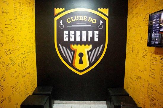 Sala de Espera Clube do Escape.