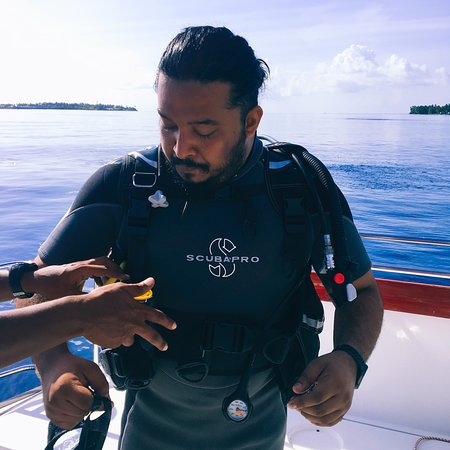 Kandima Maldives: The place that made it happen. The place that gave me the PADI Open Water Diver certification! #Aquaholics