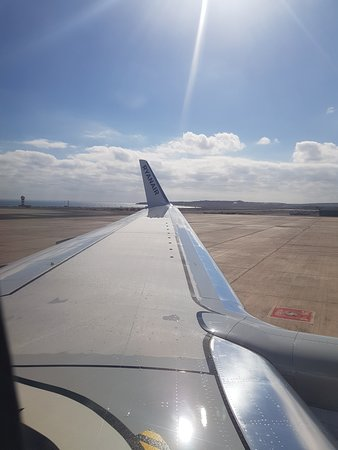 Ryanair: Waiting to depart Fuerteventura