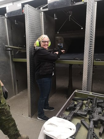 Battlefield Vegas: Never too old to have a go!