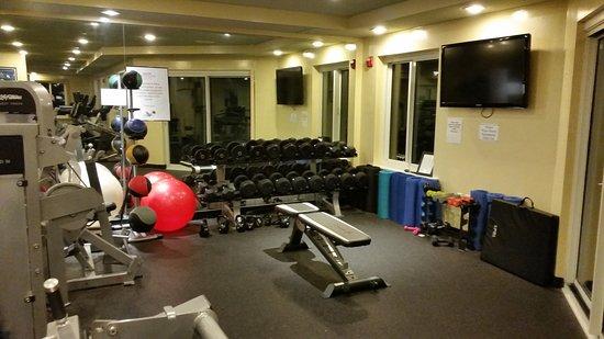 Marriott's SurfWatch: Fitness room