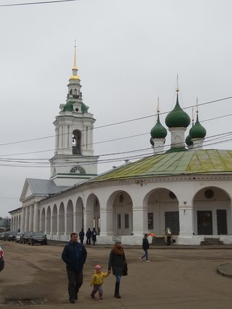 Kostroma, Russia: Торговая площадь