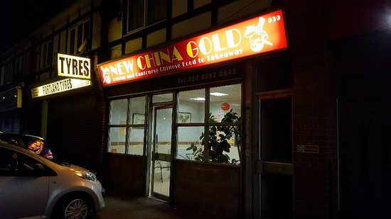New China Gold: Really good chinese takeaway!!!