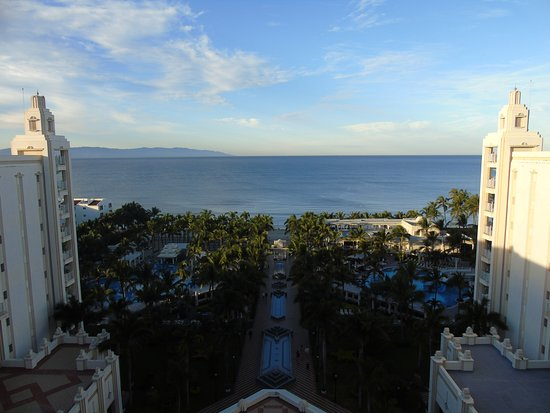 Hotel Riu Vallarta: view from the balcony room 9042