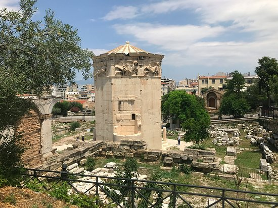 Click on Travel: Athens - Tower of the Wind Roman Agorà