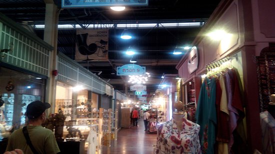 Asiatique The Riverfront: 雑貨を販売しているエリア