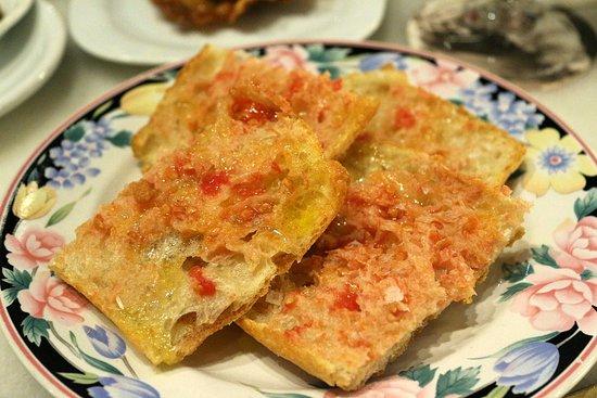 Entrepanes Diaz: Pan con tomate