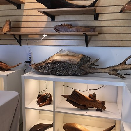 Pacific Beach, WA: A selection of art found at Sandphifer Gallery