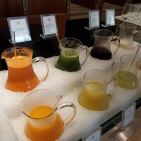 juices for morning refreshment