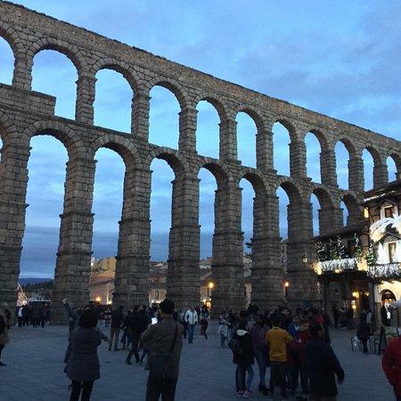 Lindo día en Segovia!