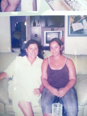 Nossa Senhora Da Gloria: Regina Casé e a filha da Dona Nena.