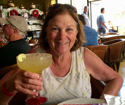 Tequila's Sunrise Bar & Grill: Marguerita Damiana