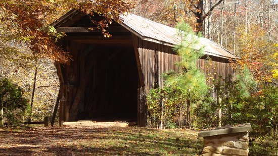 Claremont, NC: Bunker Hill Covered Bridge in the Fall.  (one of my favorite shots)
