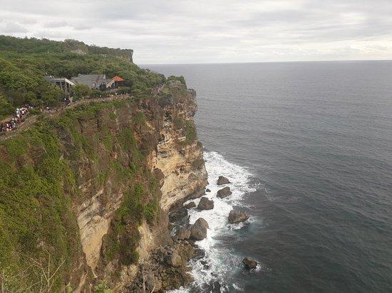 Uluwatu the temple on the cliff