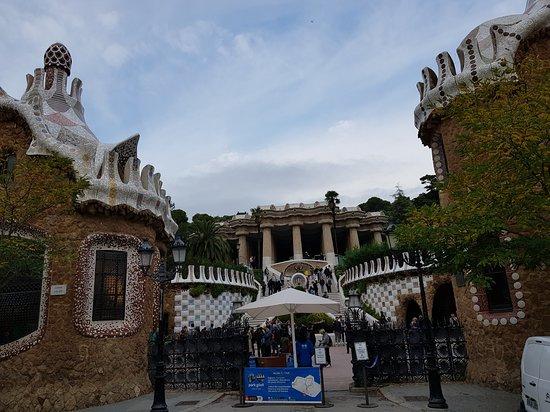 Парк Гуэля: Main entrance