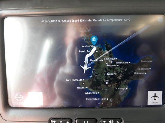 Air New Zealand: This is where we are.