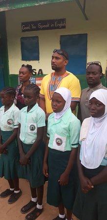 Trip Tour Senegal: School visit in gambia