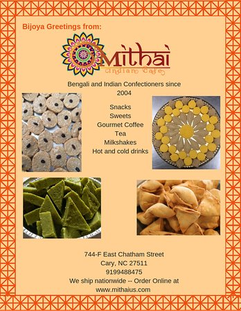 Pure bengali sweets and snacks
