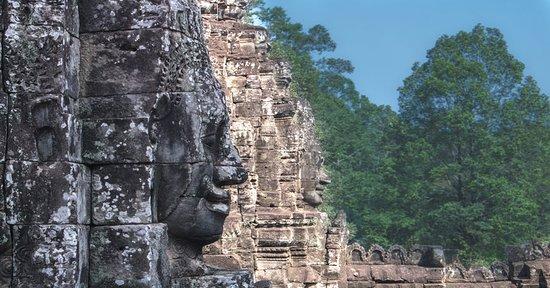 Bayond Temple four face of Terravada